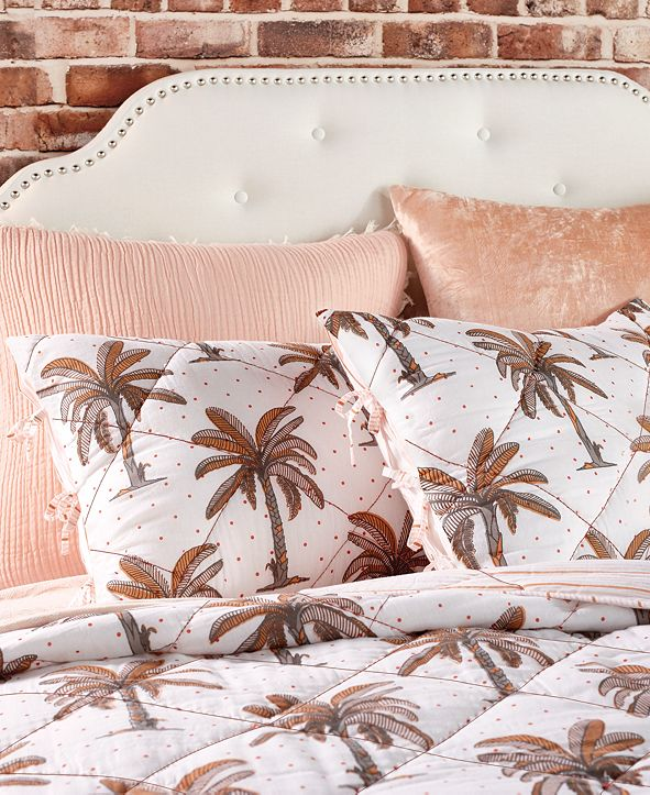 Peri Home CLOSEOUT! Palm Tree King Sham