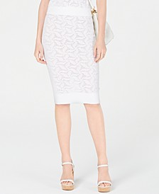 Sweater Mesh Pencil Skirt, Created for Macy's