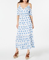 cc883c9b2c8022 MICHAEL Michael Kors Painted Reef Maxi Dress, Regular & Petite Sizes