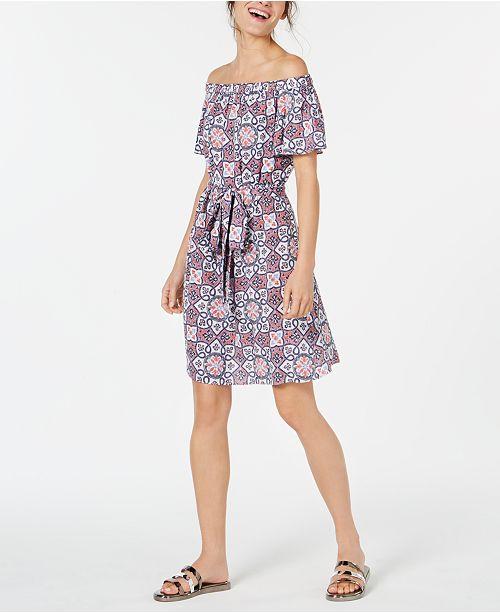 Off-The-Shoulder Dress Petite Sizes