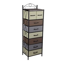 Household Essentials 8-Drawer Victorian Tower