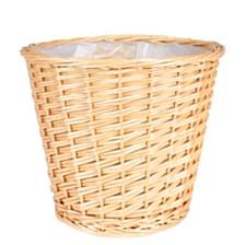 Household Essentials Medium Willow Waste Basket