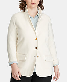 Lauren Ralph Lauren Plus Size Slim Fit Blazer