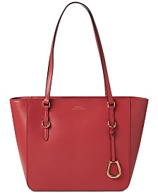 Lauren Ralph Lauren Bennington Leather Shopper