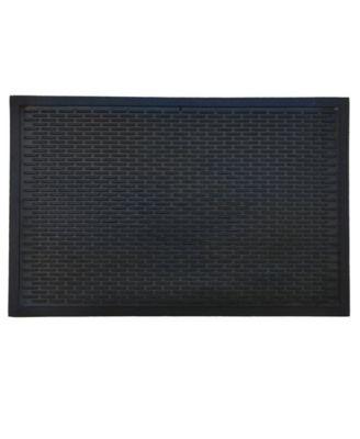 """Ridge Scraper 22"""" x 34"""" Rubber Doormat"""