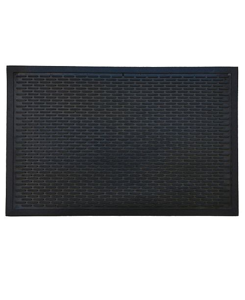 "Home & More Ridge Scraper 22"" x 34"" Rubber Doormat"