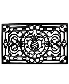 Home & More Pineapple Heritage Rubber Doormat Collection