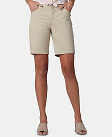 Lee Platinum Petite Chino Bermuda Shorts