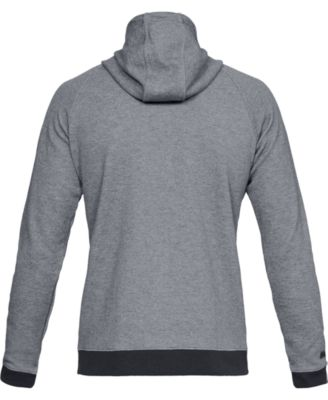 Under Armour Unstoppable Double Knit Full Zip Youth Black////White