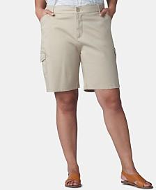 Lee Platinum Plus Size Flex To Go Bermuda Cargo Shorts