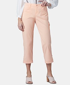 Lee Platinum Petite Cropped Cargo Pants