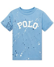 3ce52bb9965 Polo Ralph Lauren Toddler Boys Cotton Jersey V-Neck T-Shirt ...