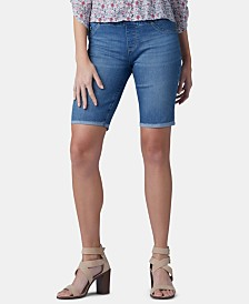 Lee Pull-On Denim Bermuda Shorts