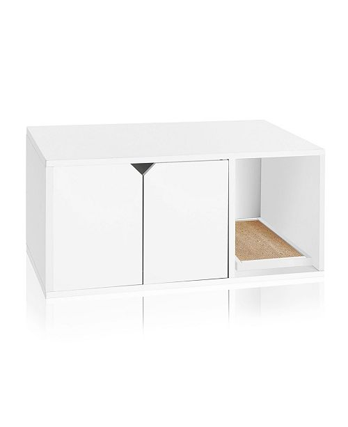 Way Basics Eco Friendly Cat Litter Box Enclosure