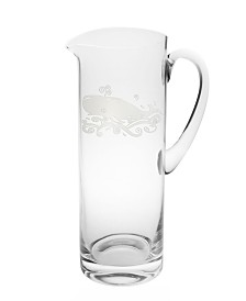 Rolf Glass Whale Pitcher 35Oz