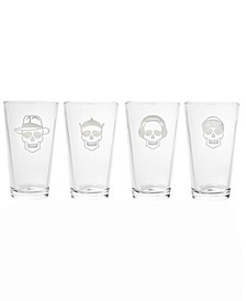 Numbskulls Pint 16Oz - Set Of 4 Glasses