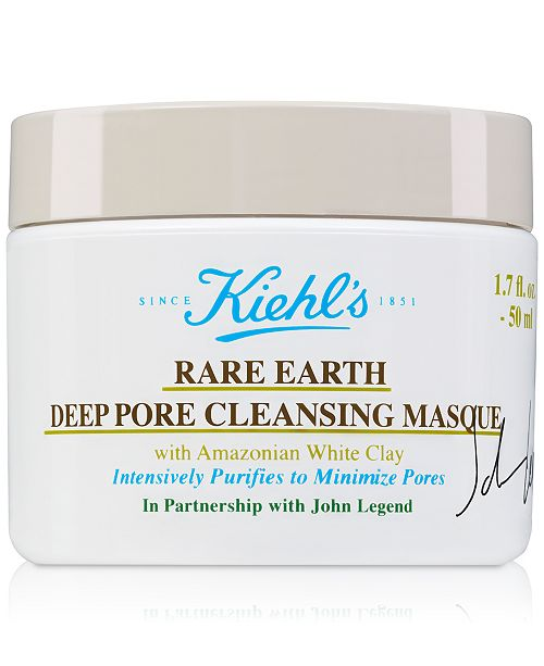 Kiehl's Since 1851 Limited Edition Rare Earth Deep Pore Cleansing Masque, 1.7-oz.