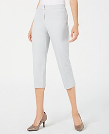 Straight-Leg Capri Pants, Created for Macy's