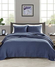 Keaton 2-Piece Twin/Twin XL Quilted Coverlet Set