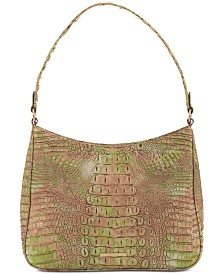 Brahmin Noelle Atlas Melbourne Embossed Leather Shoulder Bag