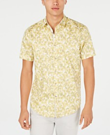I.N.C. Men's Bacchus Paisley Shirt, Created for Macy's
