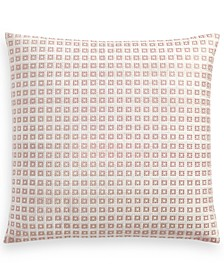 """Woodrose 18"""" x 18"""" Decorative Pillow, Created for Macy's"""