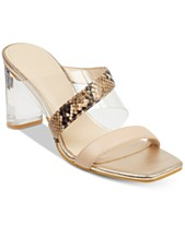 3b6f098f7d7e GUESS Women s Kicie Lucite Dress Sandals
