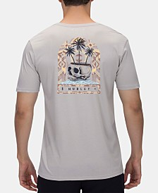 Hurley Men's Day Dreamer Logo Graphic T-Shirt