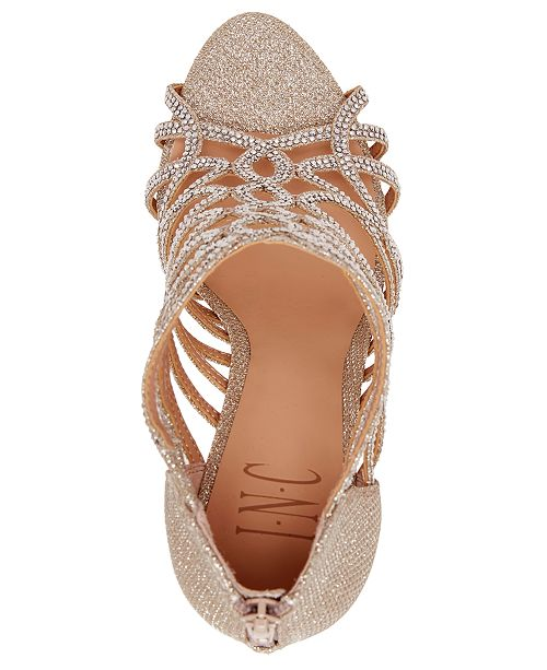 95095362d250 ... INC International Concepts I.N.C. Women s Sharee High Heel Rhinestone  Evening Sandals