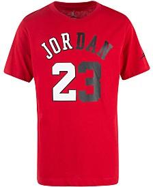 Jordan Big Boys Flight History Graphic Cotton T-Shirt