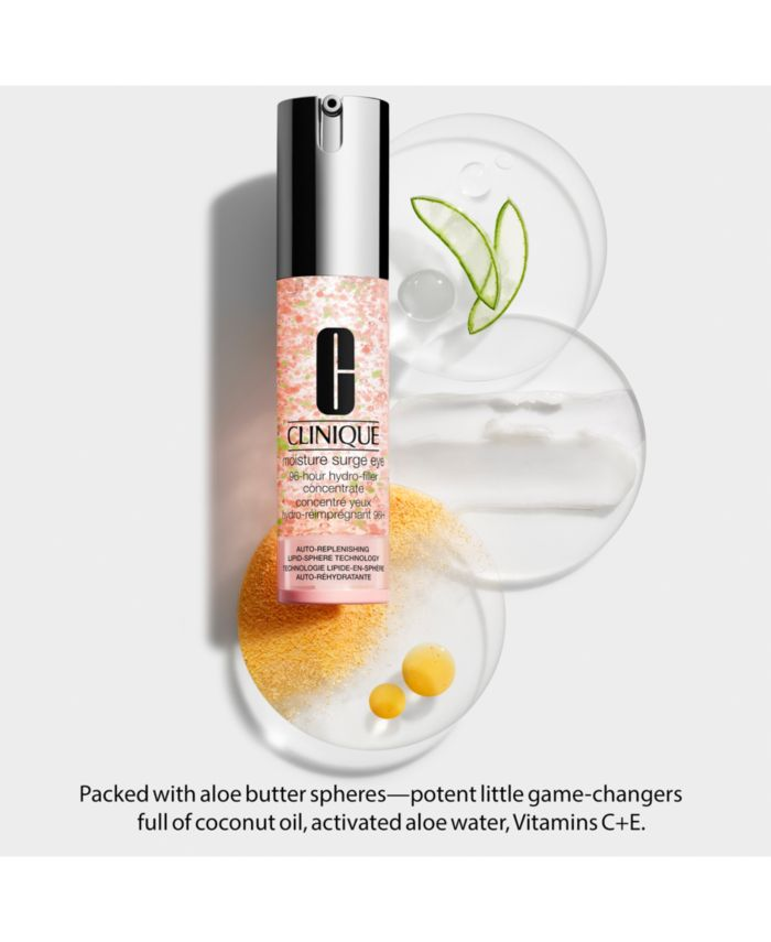 Clinique Moisture Surge Eye 96-Hour Hydro-Filler Concentrate & Reviews - Skin Care - Beauty - Macy's