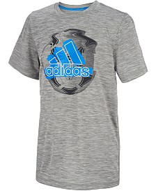 adidas Big Boys Badge of Sport Graphic T-Shirt