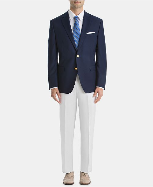 Lauren Ralph Lauren Men's UltraFlex Classic-Fit Linen Suit Separates