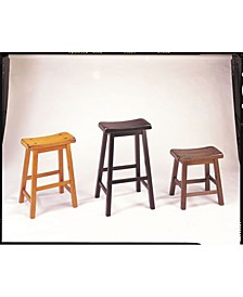 "Gaucho 18"" Stool (Set of 2)"