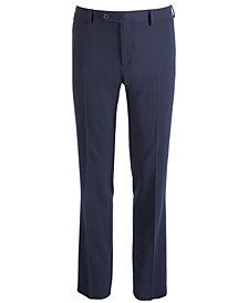 DKNY Big Boys Stretch Navy Dress Pants
