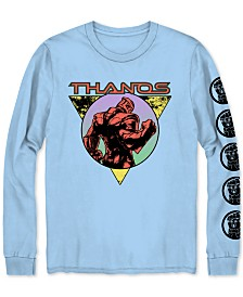 Long-Sleeve Thanos Men's Graphic T-Shirt