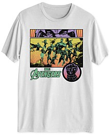 Thanos Eyes Marvel Men's Graphic T-Shirt