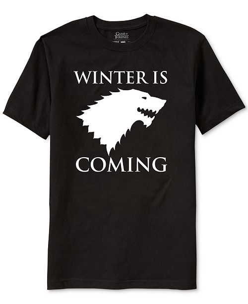 e86512fc656 Ripple Junction Game of Thrones Winter Is Coming Men s Graphic T-Shirt