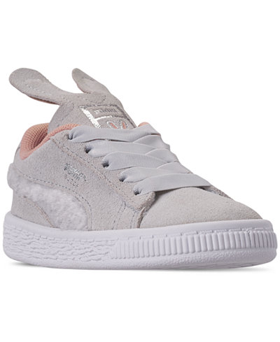 Puma Toddler Girls' Suede Easter Casual Sneakers from Finish Line
