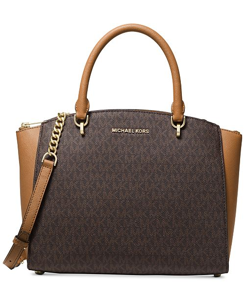Michael Kors Ellis Signature Satchel