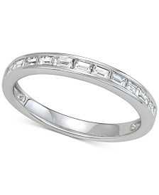 Diamond Wedding Band (1/2 ct. t.w.) in 14k White Gold