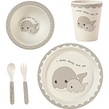 5-Piece Whale Mealtime Gift Set