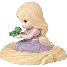 Disney Showcase Collection Dont Ever Change Rapunzel Bisque Porcelain Figurine 183073