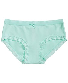 Maidenform Lace-Trim Girlshorts Underwear, Little Girls & Big Girls