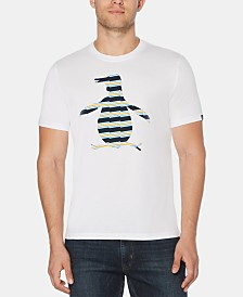 Original Penguin Men's Zig-Zag Pete Logo Graphic T-Shirt