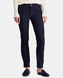 Lauren Ralph Lauren Super Stretch Modern Curvy Straight Jeans