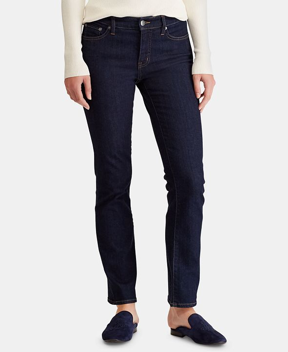 Lauren Ralph Lauren Super Stretch Modern Curvy Straight Jeans, Regular & Short Lengths