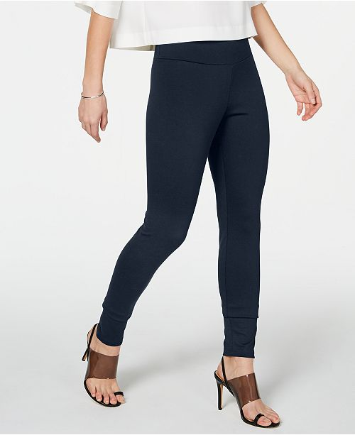 INC International Concepts I.N.C. Shaping Knit Full-Length Leggings, Created for Macy's (Available in Plus-Size)