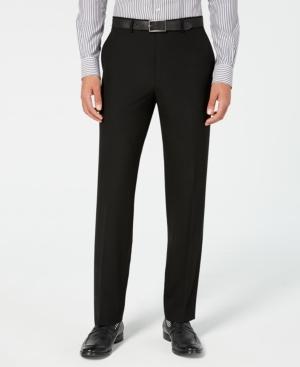 Men's Classic-Fit Stretch Wrinkle-Resistant Suit Pants
