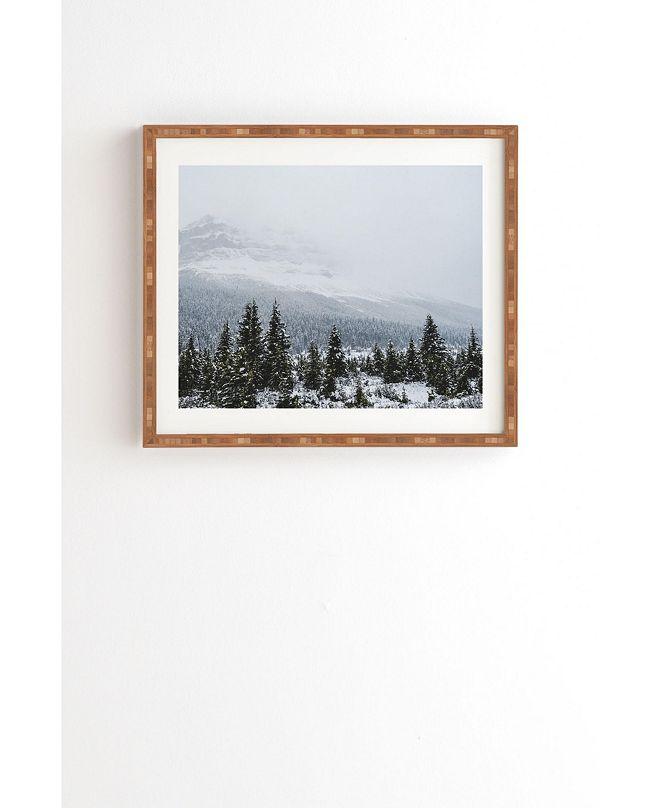 Deny Designs Blizzard in Jasper Framed Wall Art